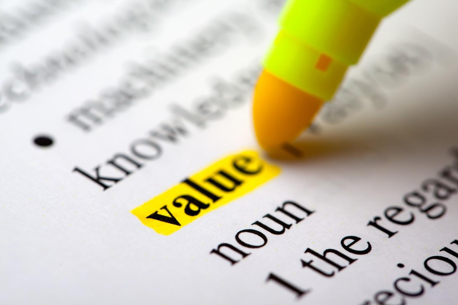 ارزش سازمانی